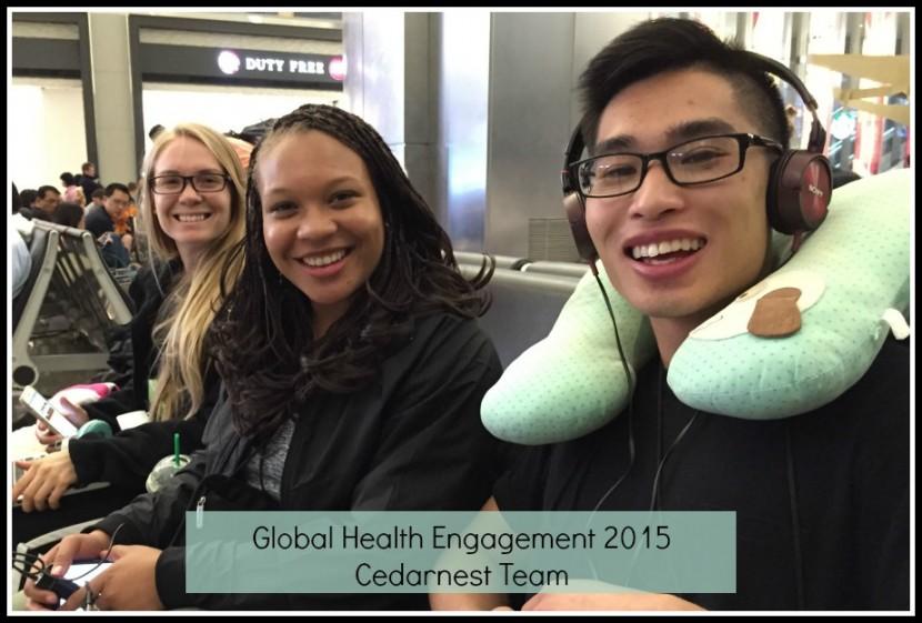 Global Health Engagement 2015 Begins!
